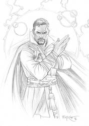 Doctor Strange by fernandomerlo