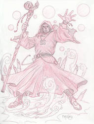 Sorcerer sketch by fernandomerlo