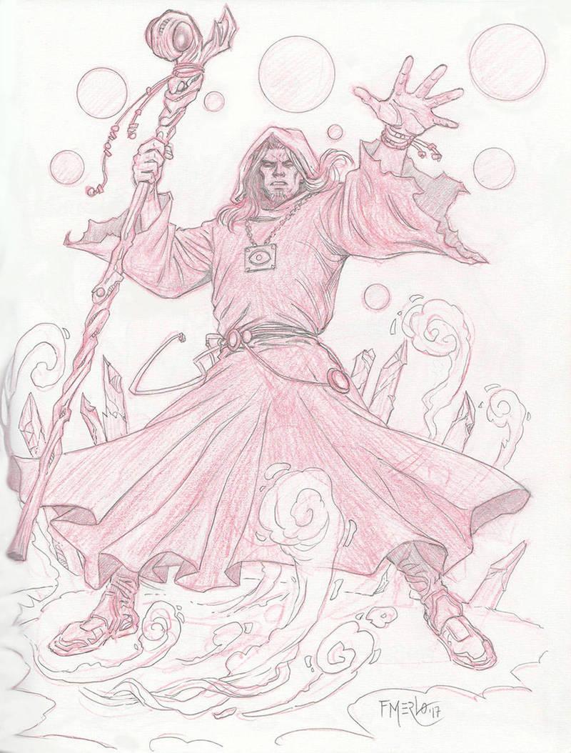Sorcerer sketch by fernandomerlo