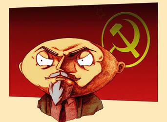 Lenin by juliusbernard