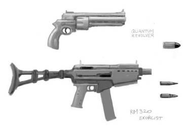 Mary's Guns by DeimosSaturn