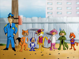 Top Cat Anime Style by Ninja-Master-Tommy