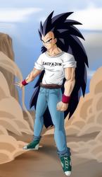 New Raditz by Ninja-Master-Tommy