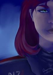 Jane Shepard by LTEQuerra