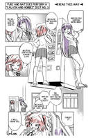 A short DDLC comic: Existence by LiriLias