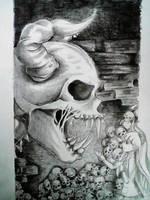 sad scream by KurogamiArt17