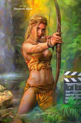 Jungle Girl by Shannon-Maer