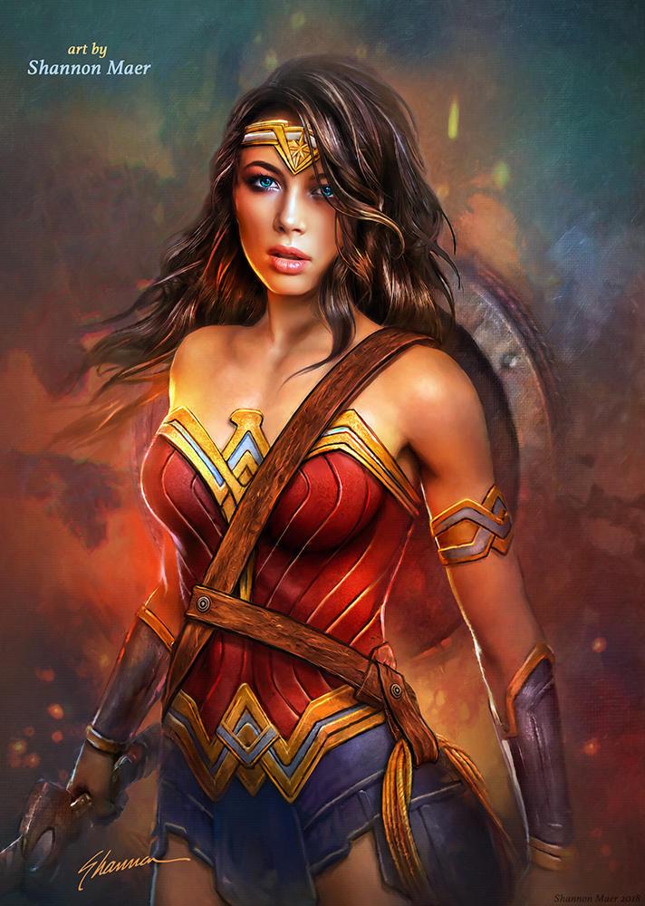 Wonder Woman by Shannon Maer by Shannon-Maer