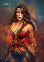 Wonder Woman by Shannon Maer by Shannon-Maer
