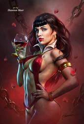Vampirella by Shannon Maer by Shannon-Maer