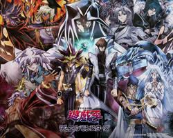Yu-Gi-Oh anime Wallpaper by Yugi-Dan-Yami