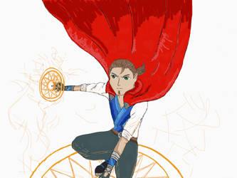Doctor Strange - late Teenage version by Yugi-Dan-Yami
