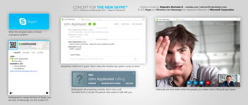 The New Skype by osoalex