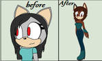 Before and after by crystalpink1616