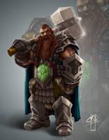 The Great Dwarf by Morkt