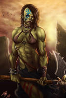 She, Orc by Morkt