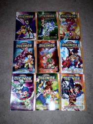Digimon Manga collection by RukahTsubasa