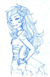 Sarias sketch by Sayuri-Nitta
