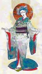 geisha by TenSkies