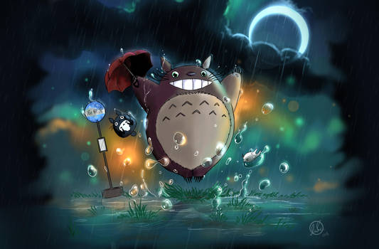 FANART - My Neighbour Totoro - by LaurenceAndrewPage