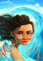Moana by LaurenceAndrewPage