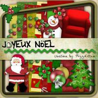 Joyeux Noel Kit by MizzKitten21