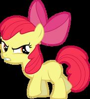Angry Applebloom by Yetioner