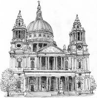 St Paul's Cathedral by MatejCadil