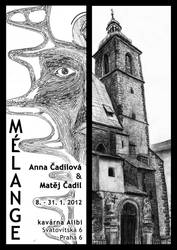 Melange Exhibition Poster by MatejCadil