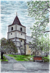 Church of St James the Greater in Bila Tremesna by MatejCadil