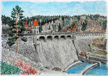 Les Kralovstvi Dam by MatejCadil