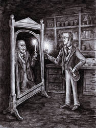 Dr. Jekyll and Mr. Hyde - Dark Mirror by MatejCadil