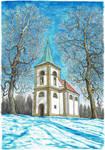 Church of St John of Nepomuk on Zvicina by MatejCadil