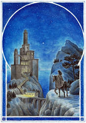 Tower of Tar-Meneldur by MatejCadil
