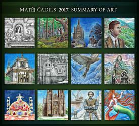 2017 Art Summary by MatejCadil
