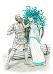 Medusa's Sorrow by MatejCadil