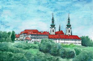 Strahov Monastery by MatejCadil