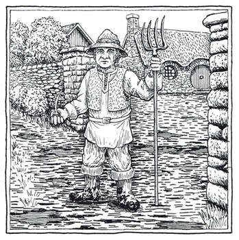 Farmer Maggot (Inktober Day 23) by MatejCadil