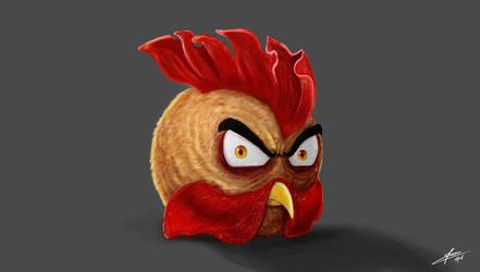 Angry Gallo by JiinArts