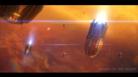 Armies of the Fallen: Drop Pods by MartinKlekner