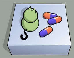 Kitty meds by timbo