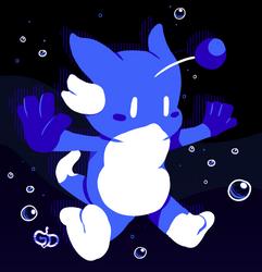 Azure, the Bubble Creature by DavidChao23