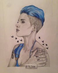 Halsey by swiftywolf