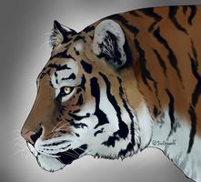 Tigress by swiftywolf