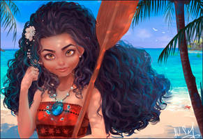 Moana by MoonSelena