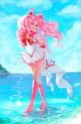 Sailor Chibi Moon2 by MoonSelena