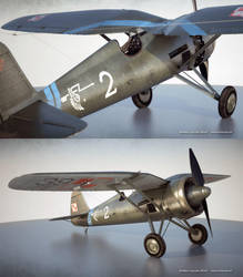 PZL p11 scale model by bazze