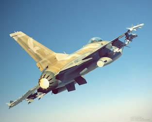 Israeli F16 by bazze