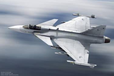 JAS Gripen - Czech Air Force by bazze