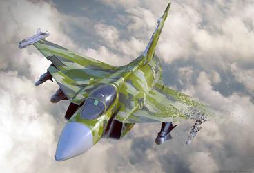 Stealth JAS Gripen by bazze
